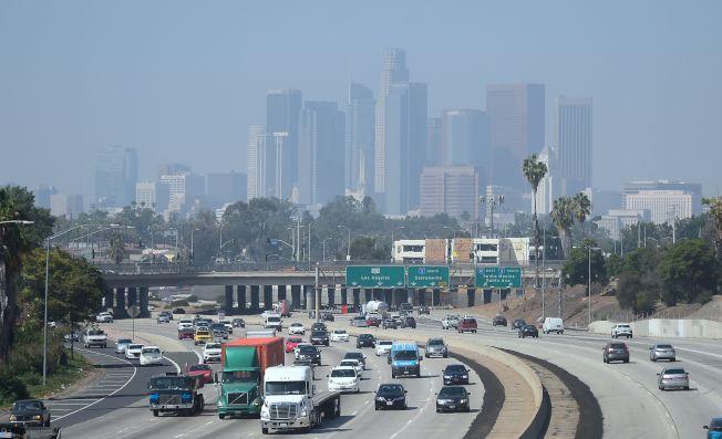 美國加州洛杉磯的空氣品質不佳。Getty Images