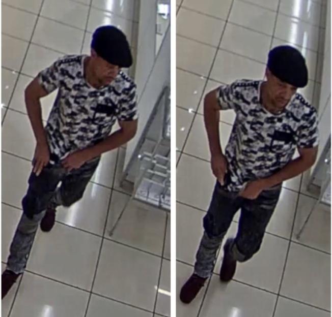 涉嫌在梅西百貨偷竊珠寶的男子。(警方提供)
