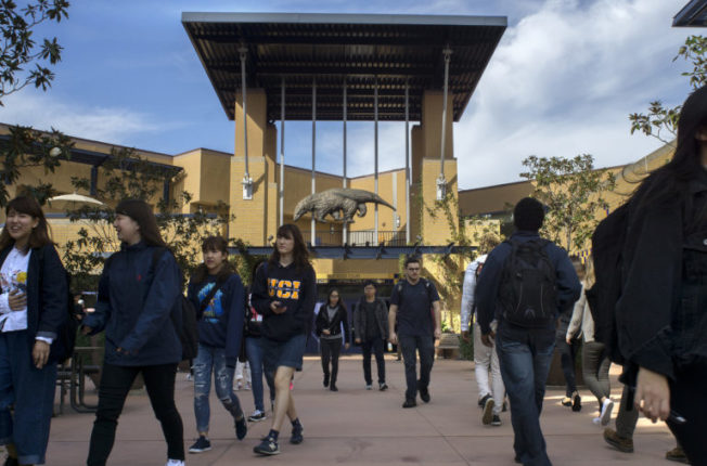 爾灣加大被「金錢」雜誌評為最佳物超所值大學。(爾灣加大官網)