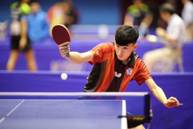 今年LA Open參賽好手中雖不乏年輕戰將但水準高,圖為曾代表台灣出戰國際比賽的黎昕陽,他剛滿18歲。(LA Open提供)