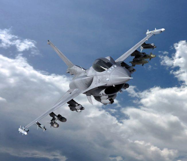 有專家認為,單靠F-16V,不會改變兩岸的軍力對比。(取材自洛克希德馬丁)
