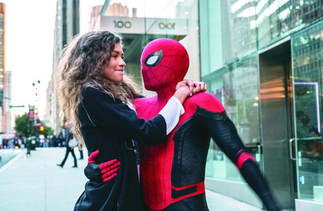 「蜘蛛人:離家日」票房熱賣,索尼與漫威卻傳不再合作。(圖:索尼提供)