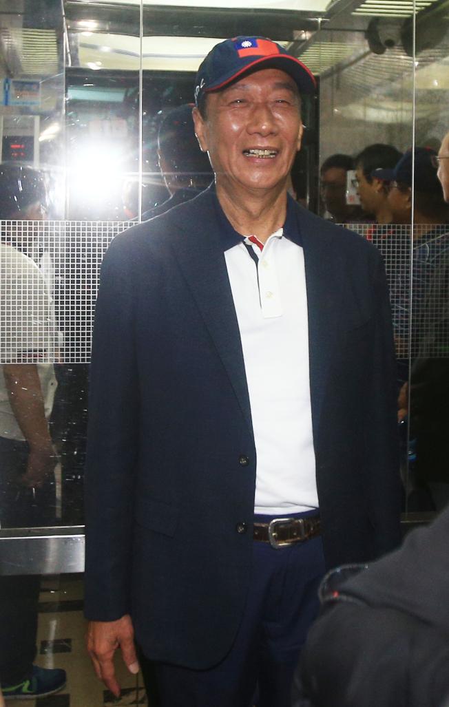 鴻海創辦人郭台銘(圖)將參加周五在台北市政府舉行的「八二三61周年音樂饗宴」。(本報資料照片)