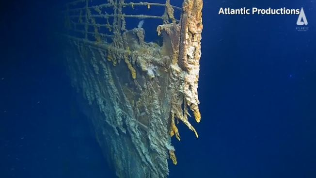 距離鐵達尼號首度重見天日已有14年時間,一組國際深海探險隊近日駕駛潛艇,再度探訪位於北大西洋3800公尺深的船骸,發現崩壞的狀況正快速惡化。路透/ATLANTIC PRODUCTIONS