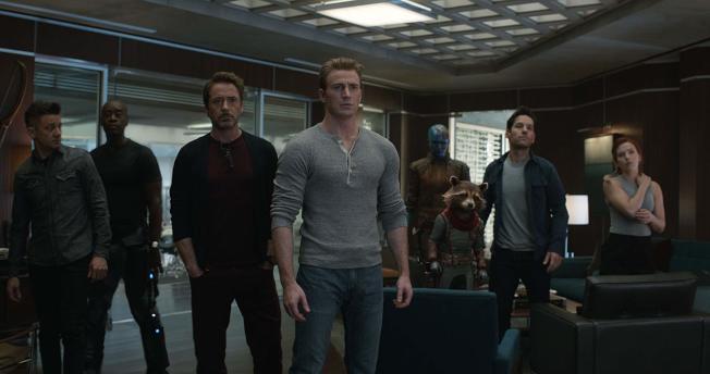 「復仇者聯盟」好幾位英雄都是吸金實力一等一的高手。圖/摘自imdb