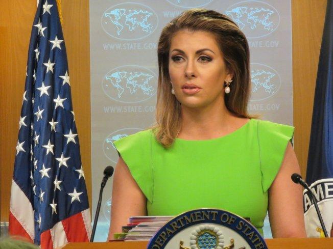 美國國務院發言人歐塔加斯。(本報資料照片)