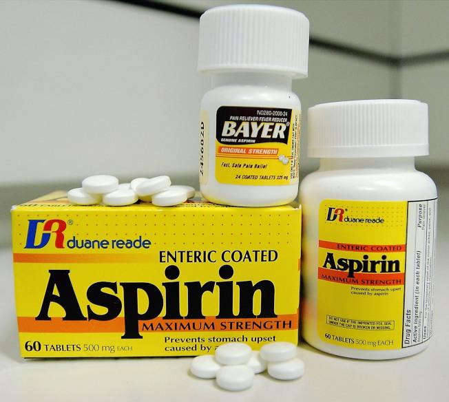 2900萬人美國人每天服用低劑量阿斯匹靈預防心臟病。(Getty Images)