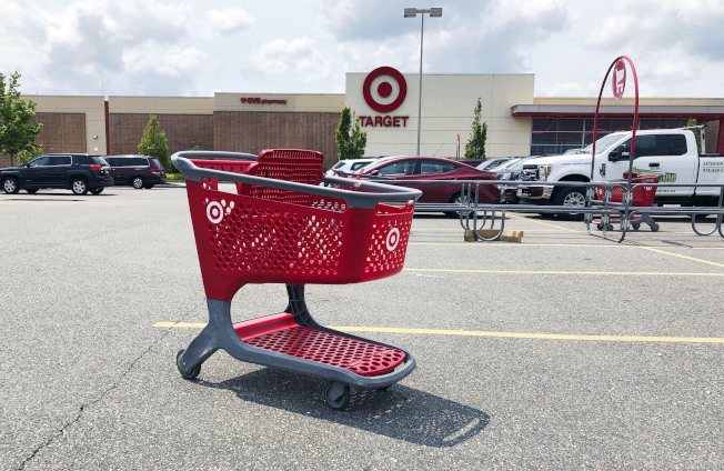 Target第二季獲利成長17%。(美聯社)
