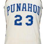 歐巴馬高中籃球隊戰袍 賣出12萬元「天價」