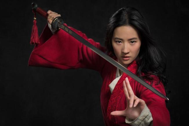劉亦菲擔綱的電影「花木蘭」遭抵制。(圖:迪士尼提供)