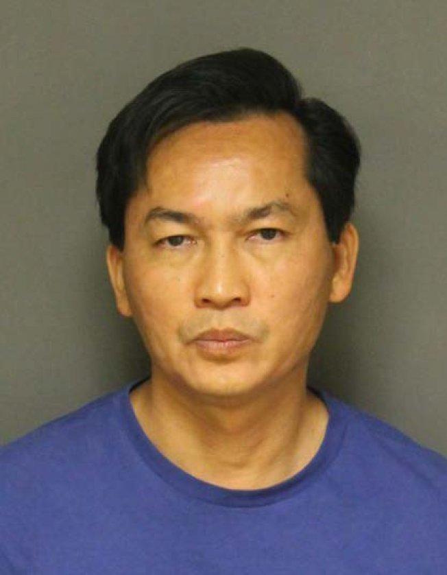 富樂頓州大命案嫌犯、51歲的武初業(Chuyen Vo,音譯)被捕。(富樂頓市警局提供)
