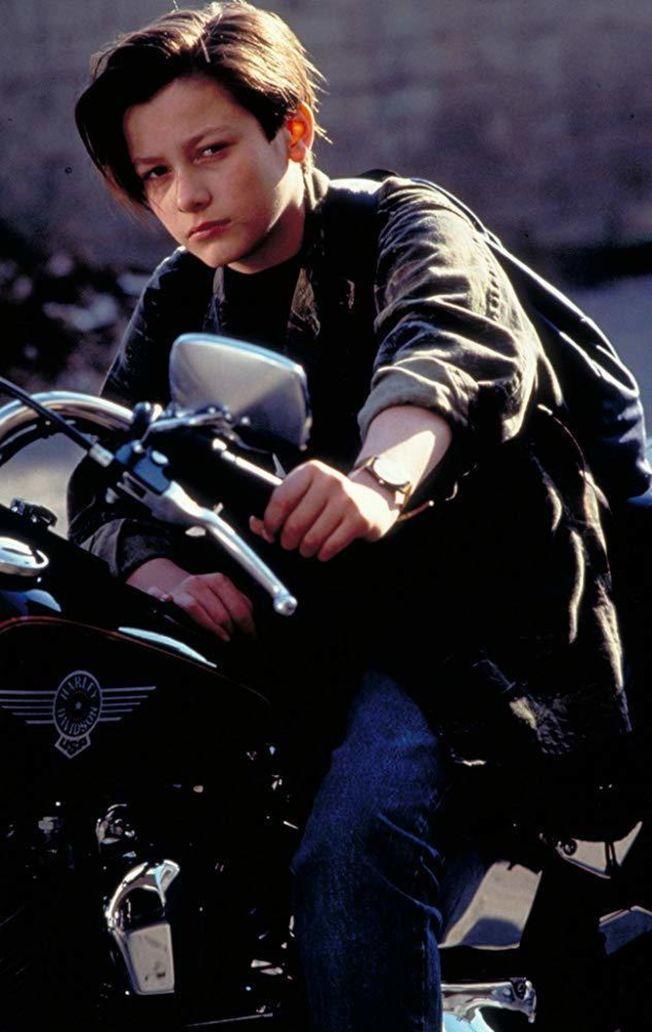 愛德華福隆在「魔鬼終結者2」帥氣模樣讓無數女孩著迷。(取材自IMDb)
