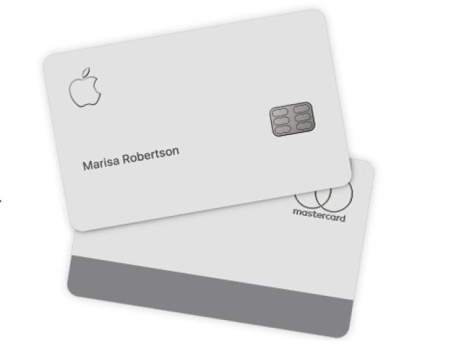 蘋果公司新推出的信用卡Apple Card,實體卡需要細心呵護照料,最好不要放入真皮皮夾和牛仔褲口袋。取材自蘋果官網