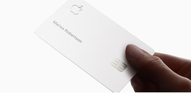 Apple Card放置需要注意。圖/取自蘋果官網影片