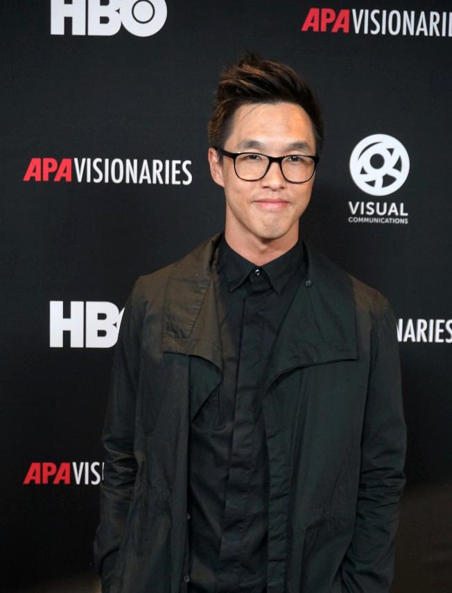 華裔網紅公司王傅兄弟創始人之一陳德偉出席HBO「亞裔夢想家短片比賽」,作品獲季軍。(世界日報資料照)