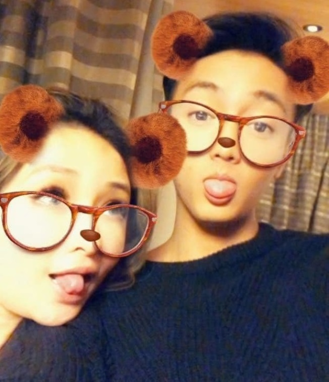 Elva選在40歲生日凌晨公開男友黃皓。圖/摘自臉書
