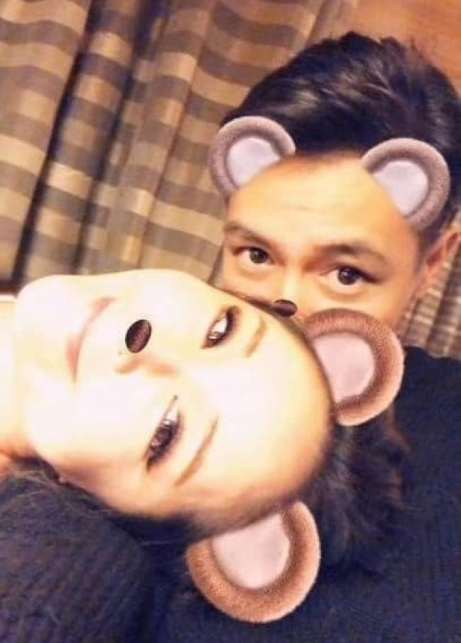 Elva在40歲生日凌晨,認愛小16歲的男友。圖/摘自臉書