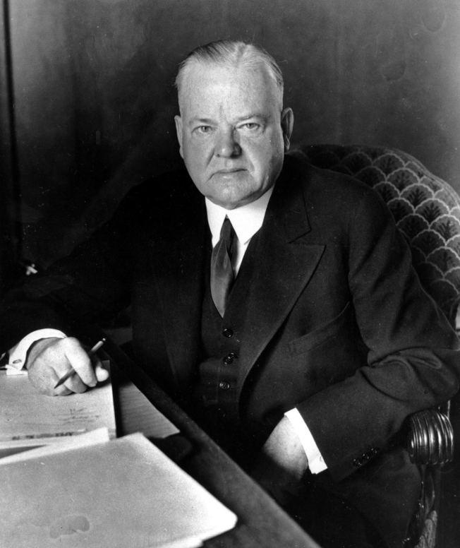 美國前總統福佛在1930年發動的貿易戰,規模大於川普的美中貿易戰。 美聯社