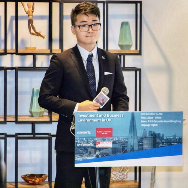 中國公安稱,英國駐香港總領館雇員鄭文傑對其違法事實供認不諱。 圖/取自鄭文傑臉書