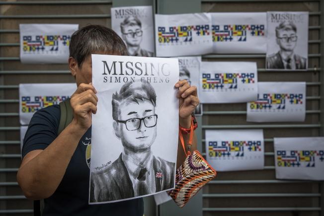 鄭文傑遭深圳公安行政拘留15天後,目前已獲釋回到香港。(歐新社)