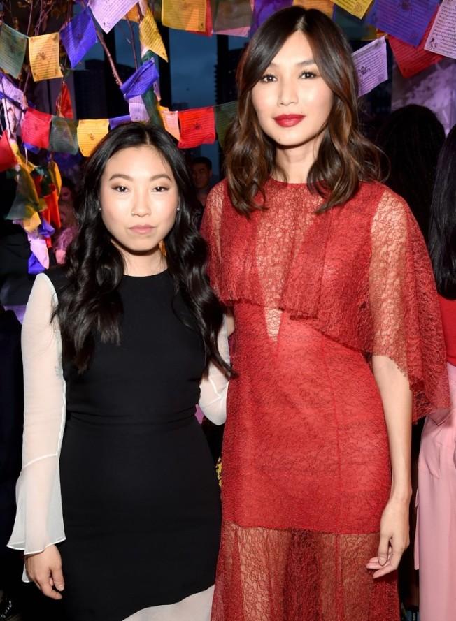 「瘋狂亞洲富豪」兩位女星奥卡菲娜與陳靜加盟更多迪士尼未來作品。 (資料圖片)