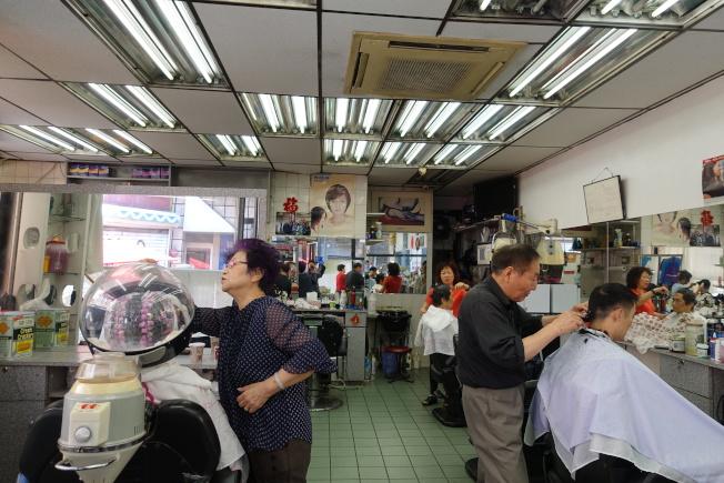上海美髮廳將結束37年的歷史。(記者金春香/攝影)