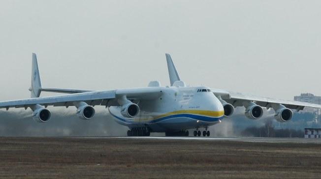 An-225是全球最大的運輸機,中國一直希望能夠製造這樣的運輸機。(歐新社資料照片)