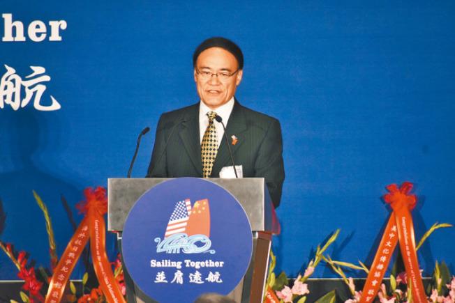 中國駐舊金山總領事王東華表示,中方願意進一步拓展與加州的合作。(記者黃少華/攝影)
