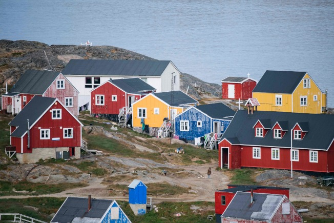 格陵蘭人口稀少,因接近北極圈,戰略地理位置日益重要。據傳美國要在格陵蘭增開總領事館。(Getty Images)