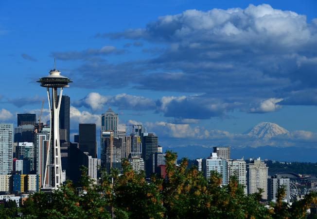 由於科技企業積極在西雅圖擴展,當地辦公室供應量吃緊。(Getty Images)