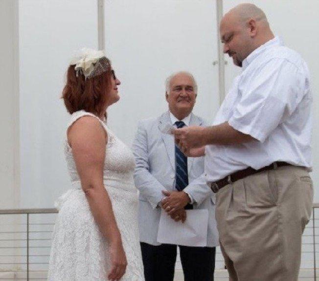 莎蒂和丈夫史帝夫。圖取自推特
