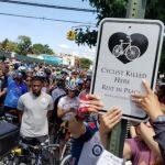 布碌崙近千單車騎士騎行 促重設街道保障安全