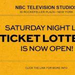 一年一次 「周六夜現場」提供門票抽獎