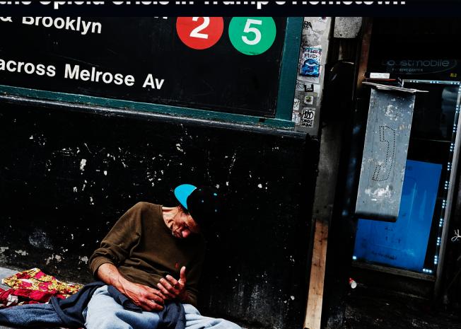 美國類鴉片毒品氾濫成災,每年因服藥過量致死的人數上萬,侵蝕全美勞動力,更是美國頭號公共衛生危機。(Getty Images)