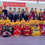 南海岸中華文化中心 七頭瑞獅鄭重開光