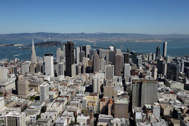 舊金山7月房價出現今年以來同比最大跌幅。(Getty Images)