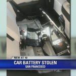 Prius電動車180磅電池 太平洋崗被竊