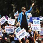 民主黨的兩個極端衝突…華倫造勢場子熱 威脅白登