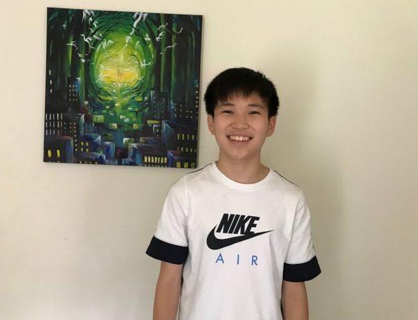 趙家正今年9月將滿15歲。(趙亮提供)