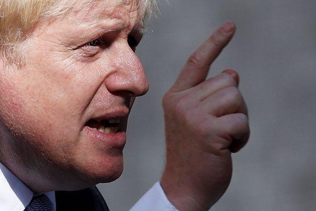 英國新首相強生,突然使出讓國會暫休的手法,引發不滿。(Getty Images)