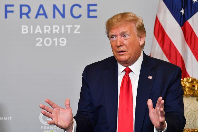 川普總統近日的民調不樂觀。(Getty Images)