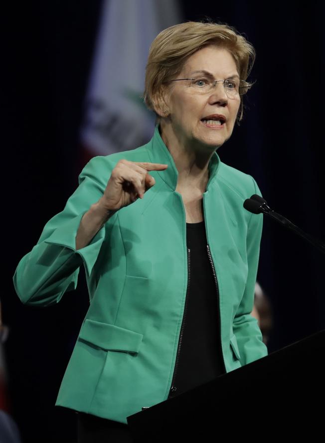 聯邦參議員華倫。(Getty Images)