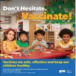 衛生局開啟返校季宣傳活動 呼籲家長為孩子接種疫苗
