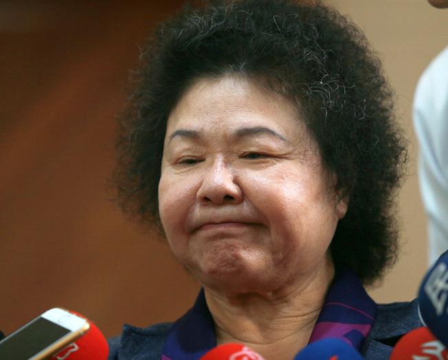 前高雄市長陳菊。(本報資料照片)