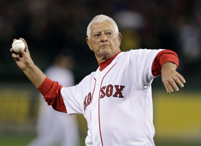 MLB/孫子也將揮棒芬威球場  紅襪傳奇球星好激動