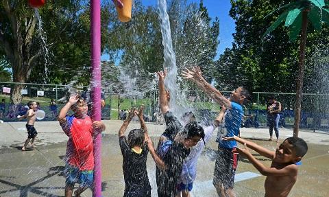 美國東北各地氣候炎熱,德州奧斯汀卻創下最低溫。(Getty Images)