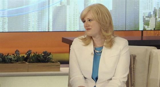 克莉絲汀·巴內特在2013年參加一檔電視節目。(Getty Images)