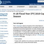 H-1B補件刁難 明年3月或可審完