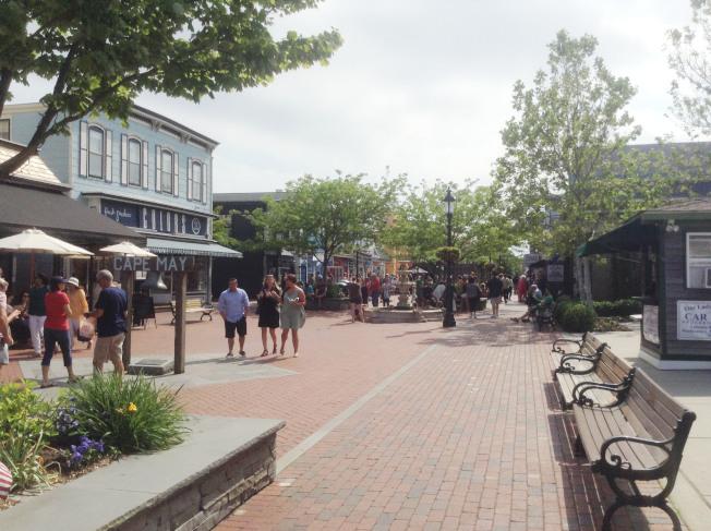 五月岬鎮中心。
