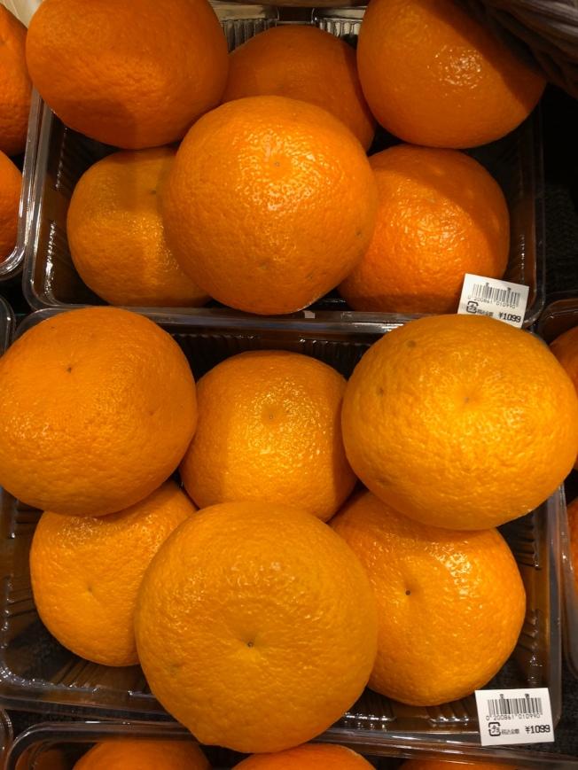 美國血橙。(作者提供)